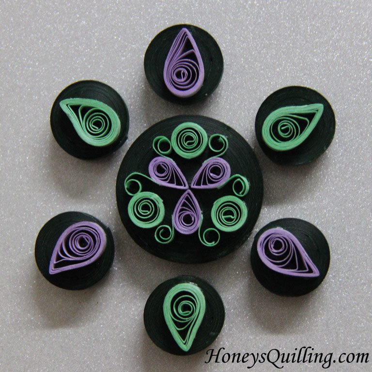 Cute Paper Quilling Designs Rangoli Design Paper Quilled